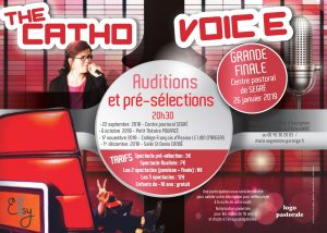 CATHO VOICE PRE -SELECTION ET FINALE